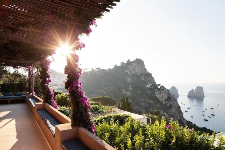 Casa de verão do designer Matteo Thun em Capri - I