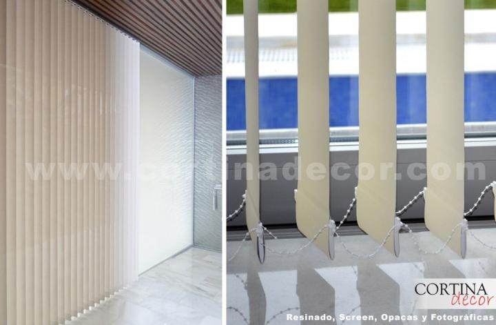 Cortinas verticais no CortinaDecor