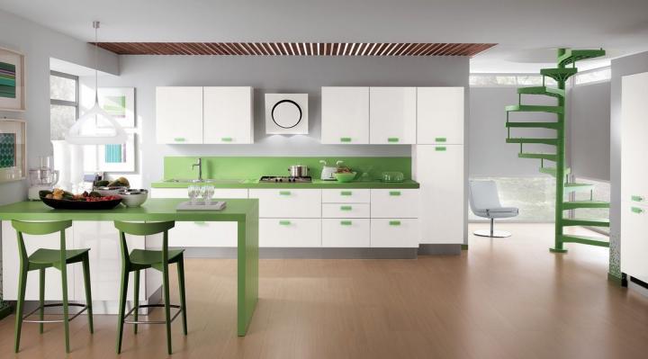 Cozinha colorida Sax