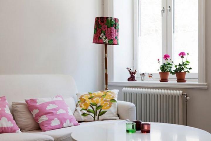 decoracao apartamento baseado branco 2 Decoração de um apartamento baseado no branco