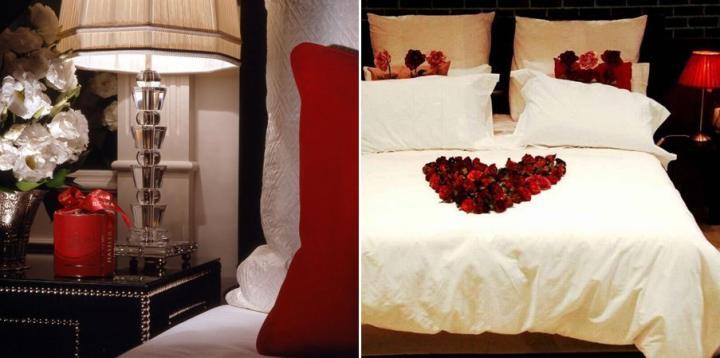 decoracao sao valentim Decora o quarto para a noite de Namorados