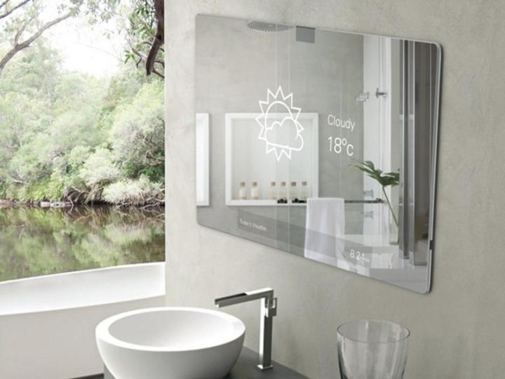 Espelho de casa de banho futurista 2.0 - I