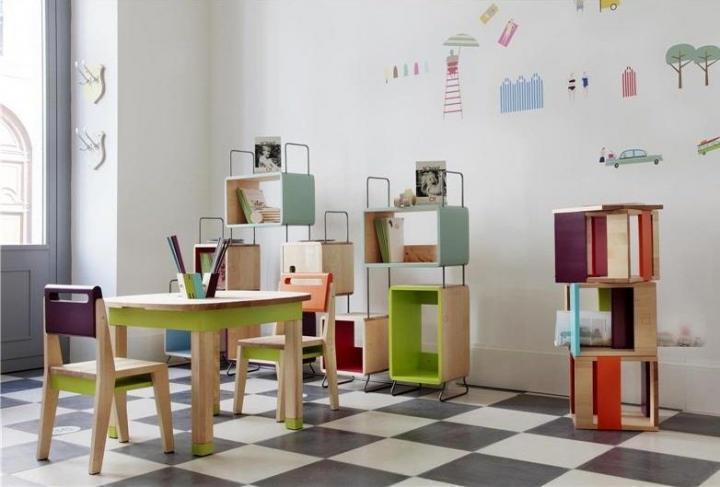 Estantes e m veis para a decora o da casa modelos de - Muebles de ninos segunda mano ...