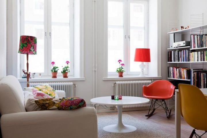fotos decoracao apartamento baseado branco Decoração de um apartamento baseado no branco