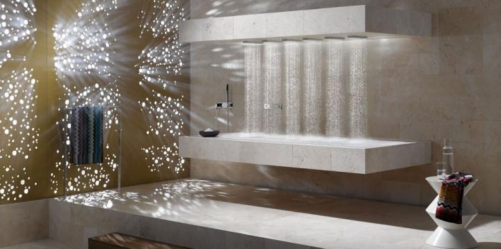 Horizontal Shower da Dornbracht