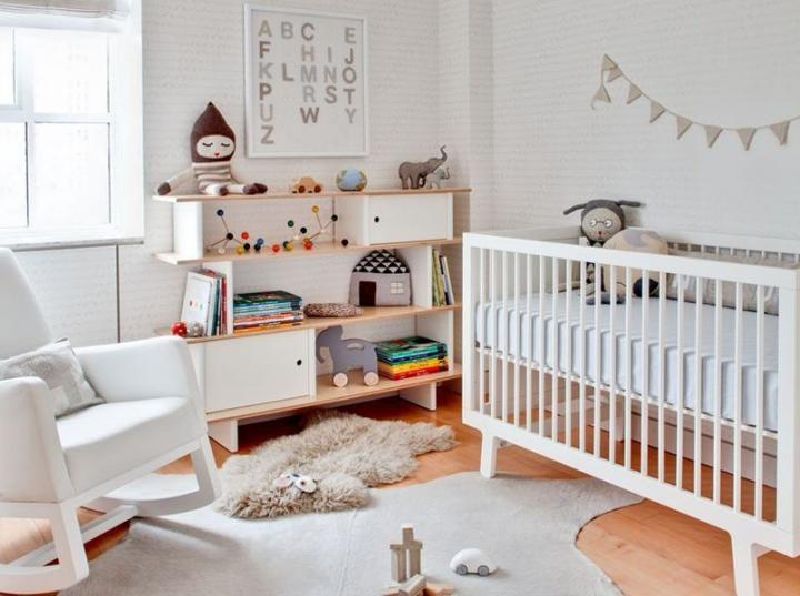 ideias para quarto bebe elegante doce 9 Ideias para um quarto de bebé elegante e doce