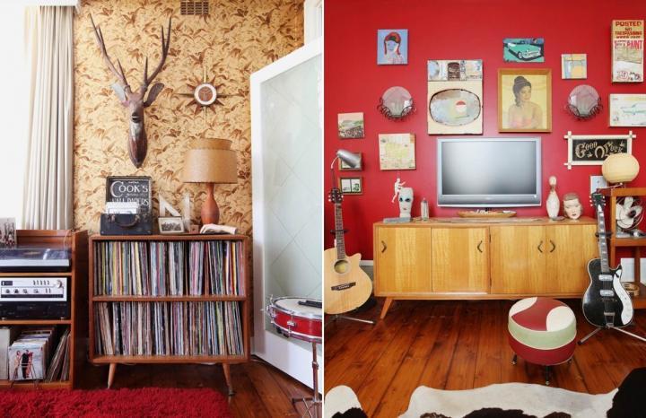 Ideias práticas para uma decoração vintage