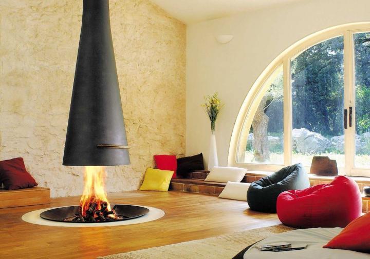Decora o de salas ideias para decorar salas tend ncias - Decoracion de chimeneas modernas ...