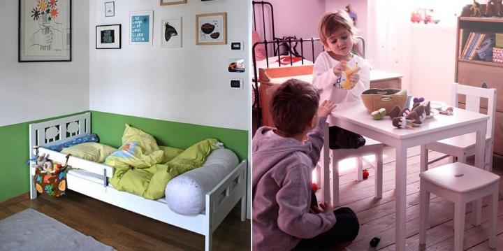 Camas e decora o de quartos mobili rio e complementos - Camas de bebe ikea ...