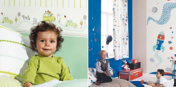 Papel de parede infantil CasaDeco - I