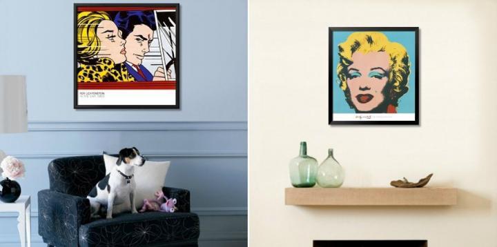 Quadros Pop Art na nossa casa - I
