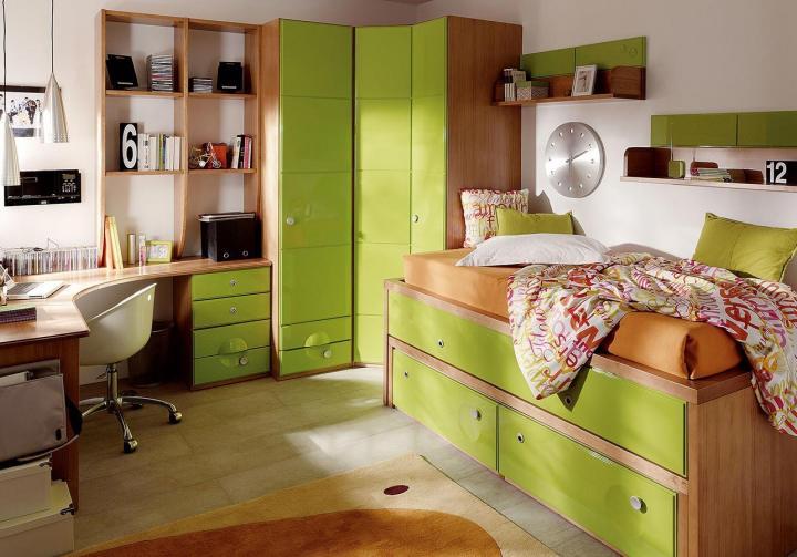 Decora o de quartos ideias para decorar quartos ou - Habitaciones juveniles femeninas ...