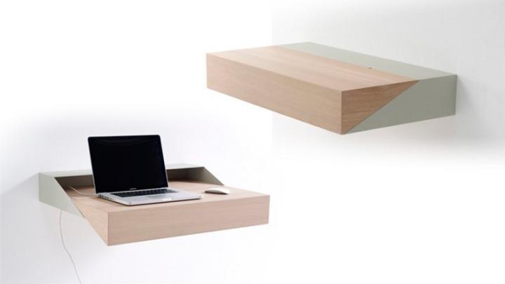 Secretária Deskbox, mini solução para os problemas de espaço