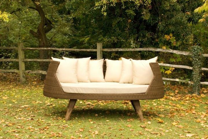 Decora o de jardins ideias para decorar o teu jardim ou - Sofas para exterior ...