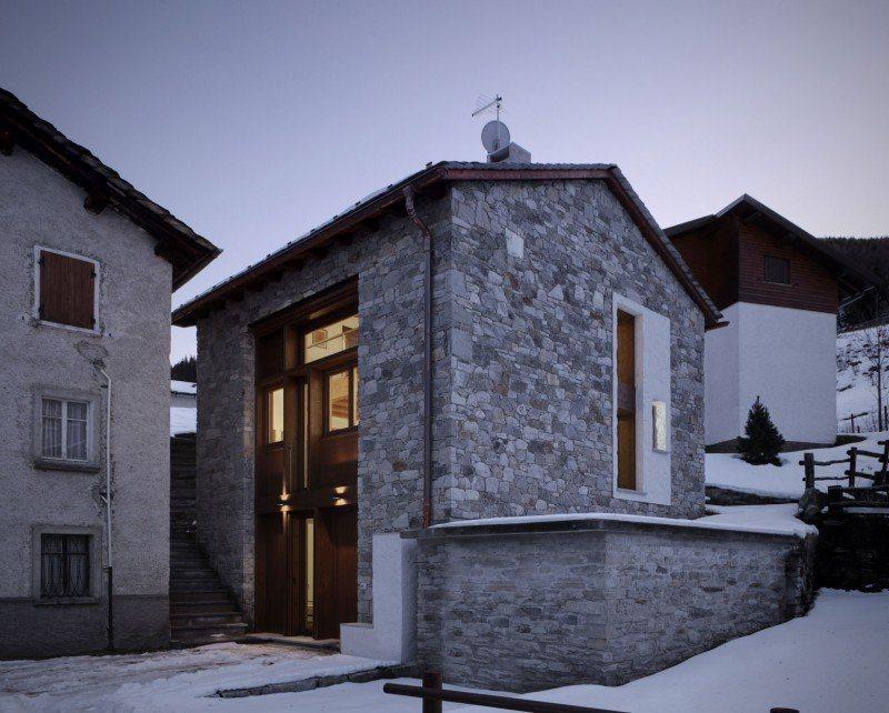 Galeria da antiga quinta transformada numa casa moderna for Casa quinta moderna