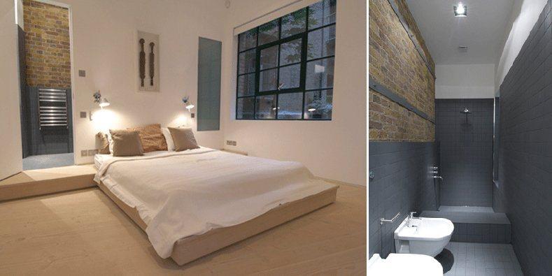 Antigo armaz m de londres convertido num apartamento for Apartamentos modernos minimalistas