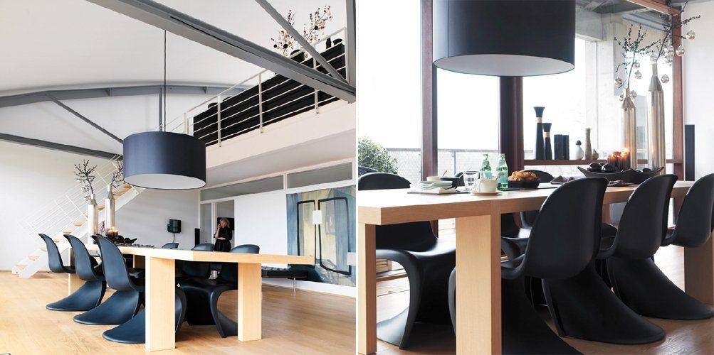 Apartamento loft minimalista em preto e branco decora o for Decoracion apartamento pequeno estilo minimalista