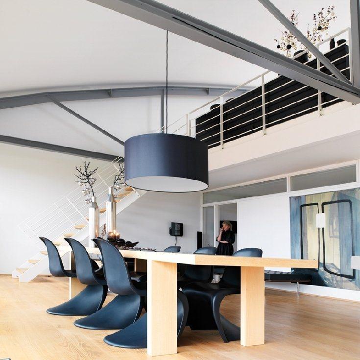 Imagens de um apartamento tipo loft minimalista em preto e - Apartamento tipo loft ...