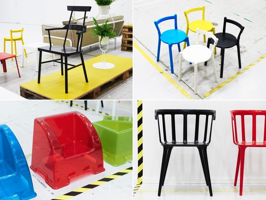 Cadeiras da nova coleção Ikea PS 2012. Decoração da casa. #0477C7 1027 771