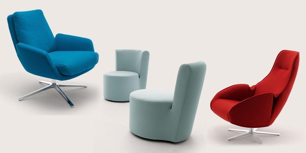 Cadeir es de design moderno cor decora o da casa for Sillones para oficina modernos
