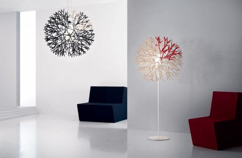 Candeeiros de p modernos pallucco decora o da casa - Lamparas para salon modernas ...