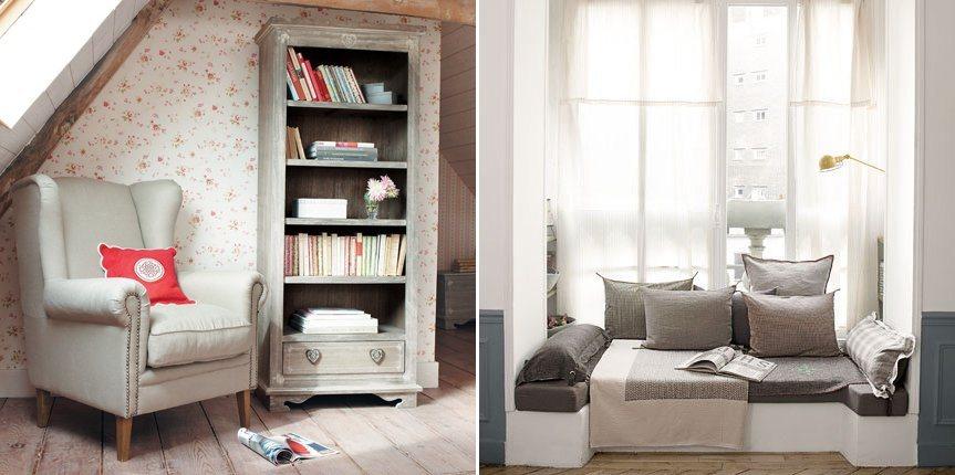 Conselhos para criar um canto de leitura decora o da casa - Decorar un rincon del salon ...