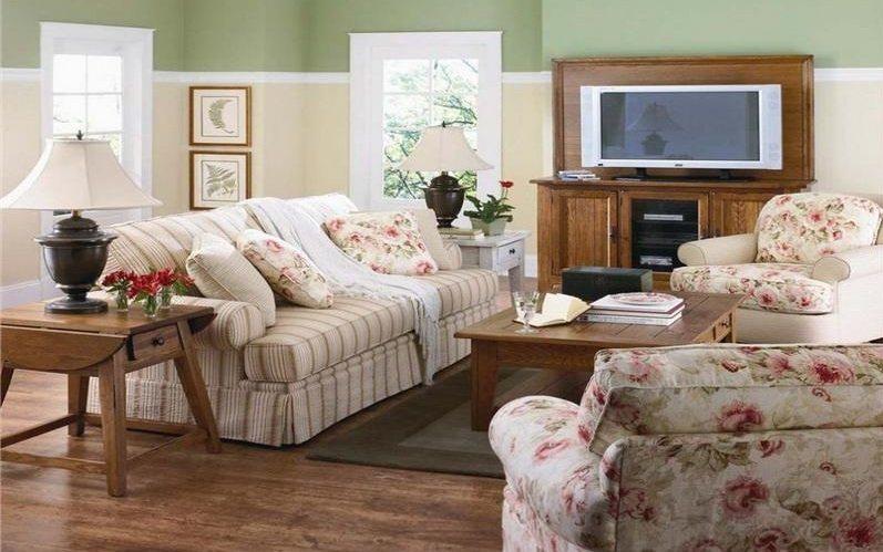 Como decorar uma sala de estilo vintage decora o da casa - Decoracion de salones vintage ...