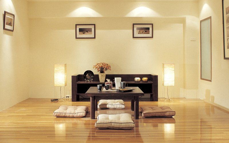 Conselhos para uma sala de estilo japon s decora o da casa for Estilos de apartamentos