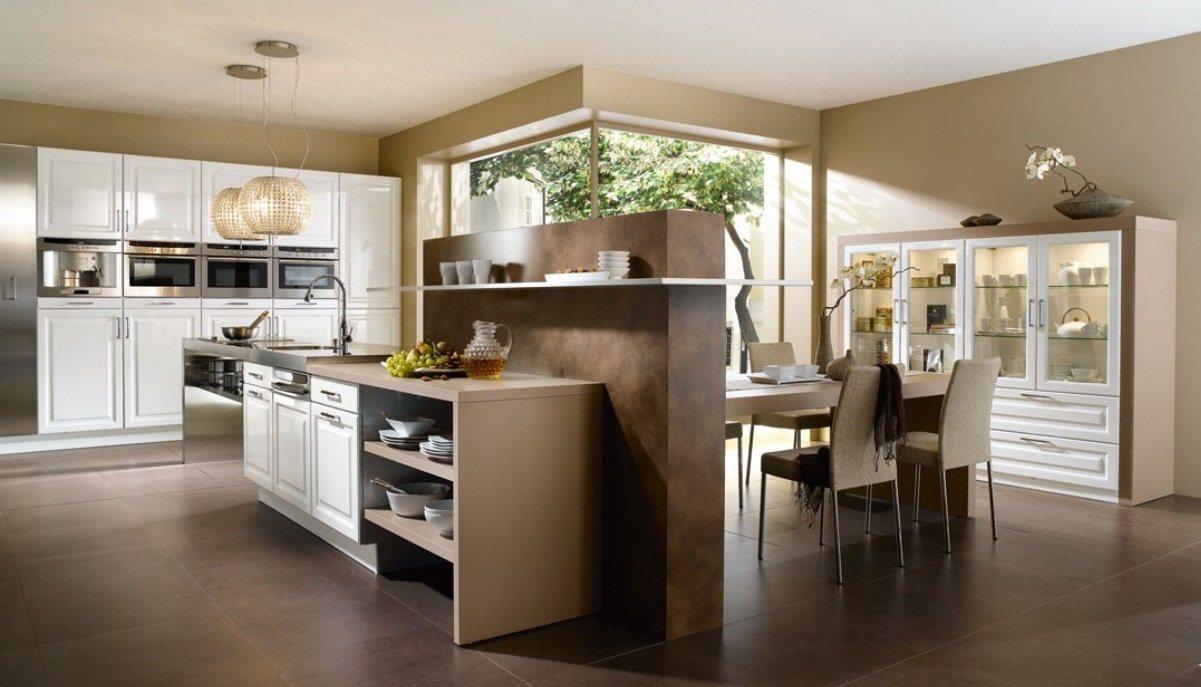 A cor castanha na decora o decora o da casa Modern kitchen design magazine