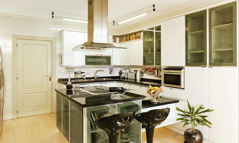 Tipos de cozinhas. Decoração da casa. #B69515 1500 900
