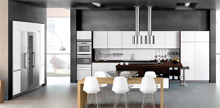 Cozinhas acolhedoras da forlady decora o da casa for Muebles minimalistas para casas pequenas