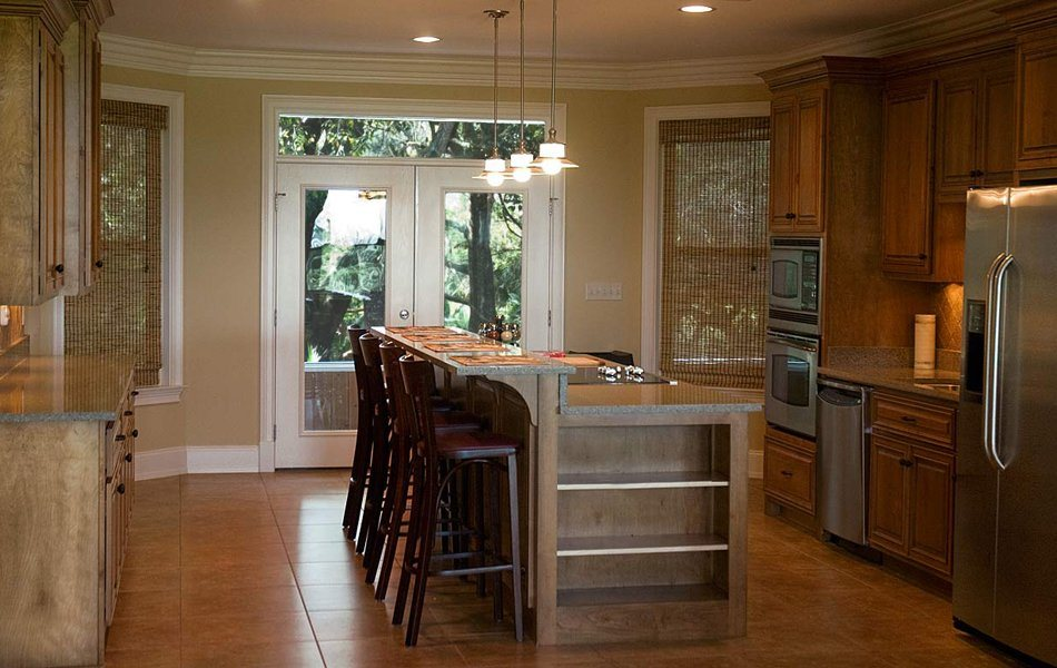 decorar cozinha rustica:Também podes usar certos toques naturais no teu ambiente. Completa a