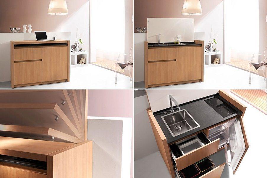 Cozinhas compactas da empresa Kitchoo Decoração da casa # Mini Cozinha Simples