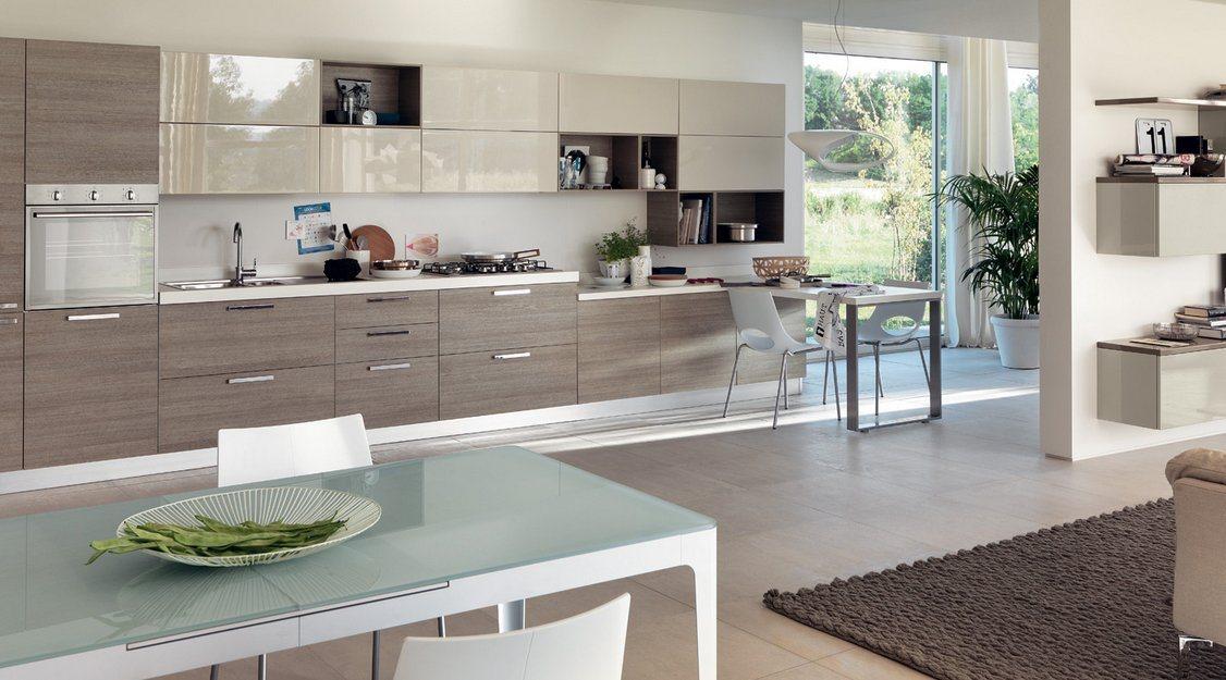Imagens de cozinhas modernas e coloridas scavolini - Cocinas con estilo moderno ...