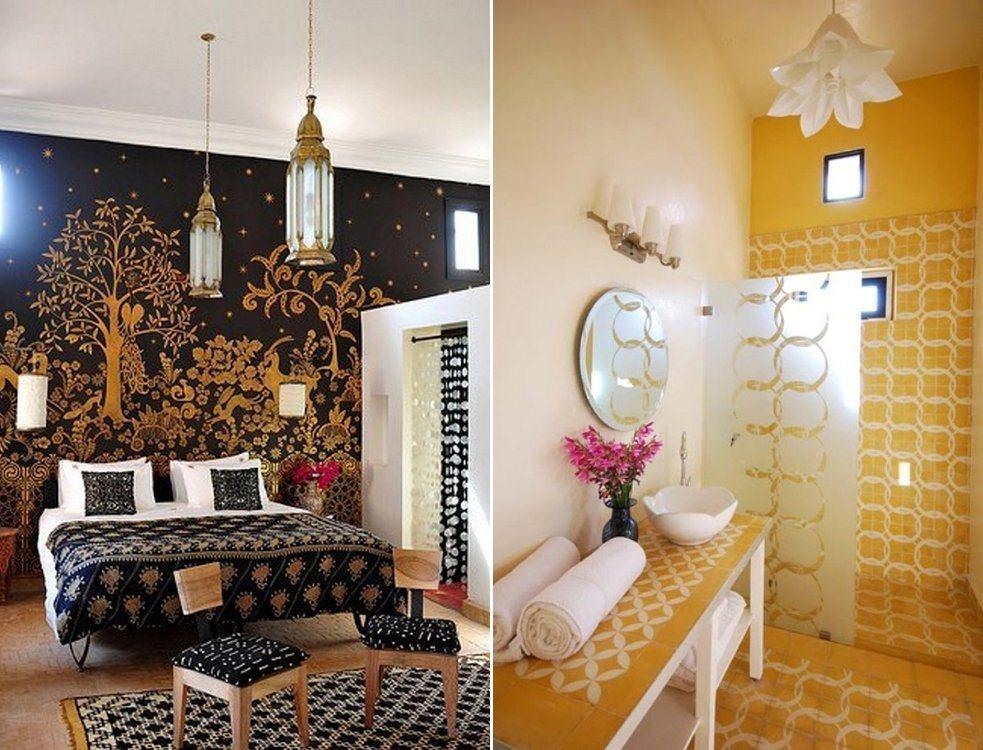 Inspira o para uma decora o rabe decora o da casa - Dormitorios arabes ...