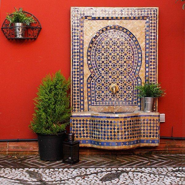 Jardin Arabe: Decoração árabe, Um Estilo De Decoração Diferente
