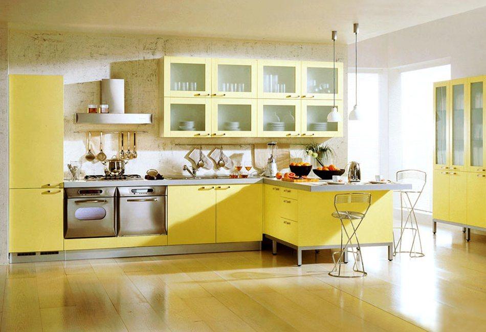 Cores para cada zona da casa decora o da casa for Cocinas con colores vivos