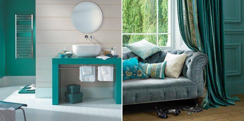 Mueble Baño Turquesa:Decoração de interiores em verde Decoração da casa
