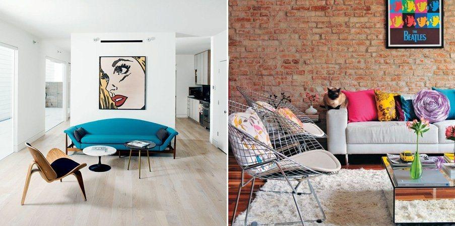 Tend ncias na decora o estilo pop art decora o da casa - Estilos de decoracion de interiores ...