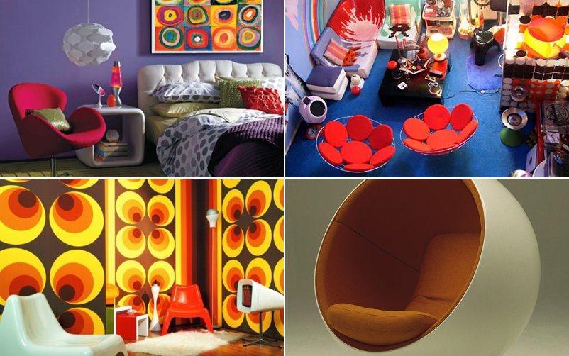 Ideias para conseguir uma decora o retro decora o da casa for Decoracion casa anos 70