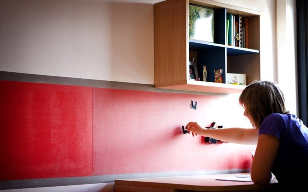 Tinta magn tica para interiores surpreendentes decora o - Decoracion con pintura ...