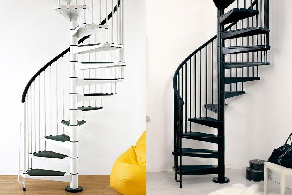 Escadas em caracol ideais para duplex sem espa o for Ver escaleras de caracol