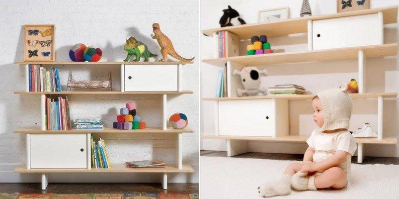Estantes infantis originais decora o da casa - Estanterias guardar juguetes ...