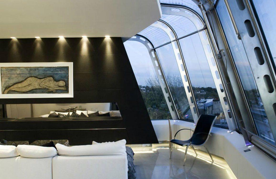 Duplex de vidro em notting hill decora o da casa - Fotos de duplex ...