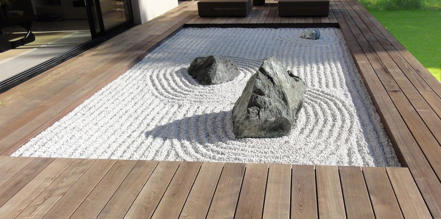 Fotos de jardins Zen