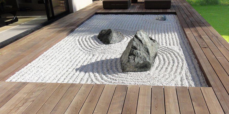 Jardins zen a ltima tend ncia em decora o exterior for Grand jardin zen