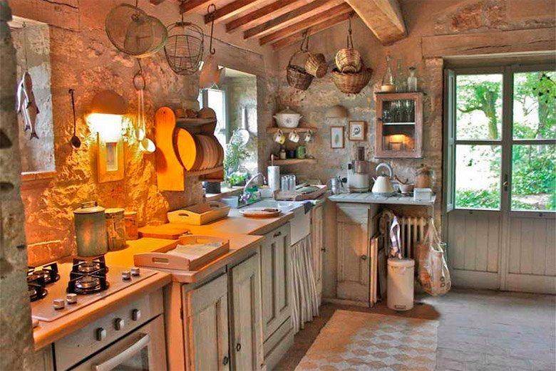 Ideias para criar uma decora o r stica decora o da casa for Old english kitchen designs