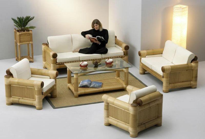Ideias para decorar com bambu decora o da casa - Muebles de bambu y mimbre ...