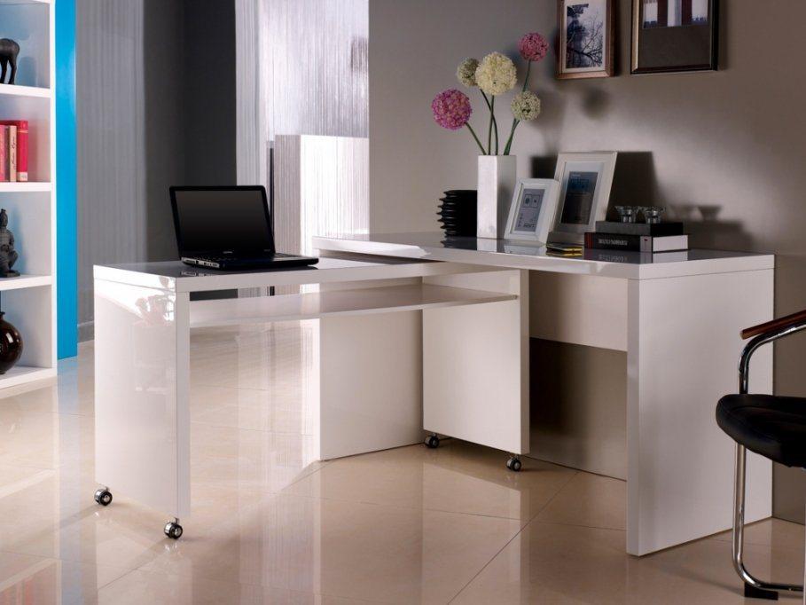 Ideias para decorar um escrit rio pequeno decora o da casa for Oficinas pequenas modernas en casa