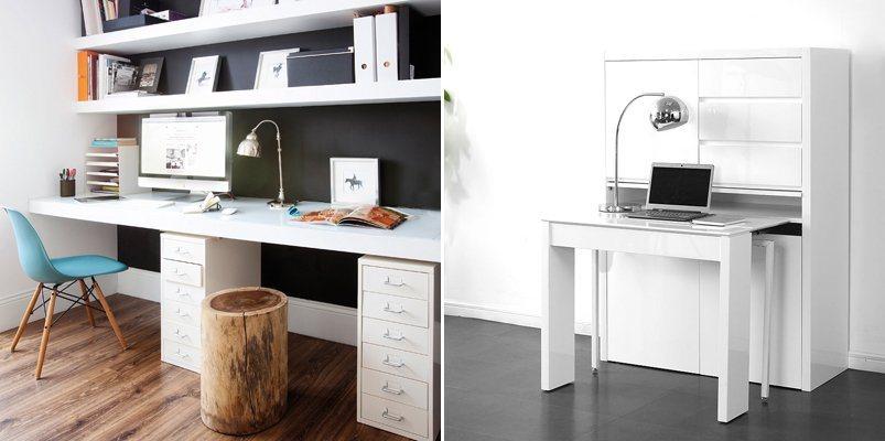 Ideias para decorar um escrit rio pequeno decora o da casa for Decoracion oficinas modernas pequenas